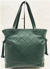 a38d3b8c2d77 Tory Burch Georgia Slouchy Quilted Malachite Leather Tote w  Dust ...